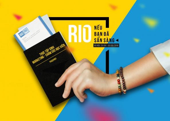 RIO tuyển dụng: Thực tập sinh Marketing - Chăm sóc học viên